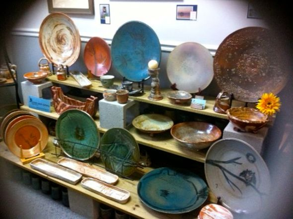 Ancient Earth Pottery @InkStone Gallery