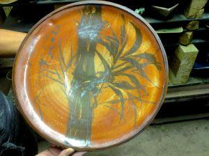 Bamboo multi platter